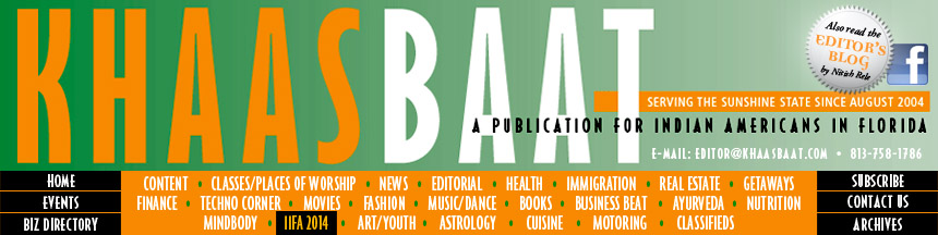 Khaas Baat : A Publication for Indian Americans in Florida