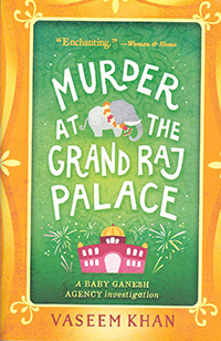 Murder at the Grand Raj Palace BOOK